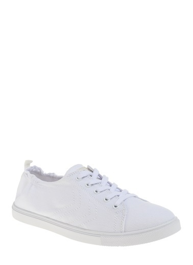 Hummel Unisex Agoptos Sneakers 207895-9001 Beyaz